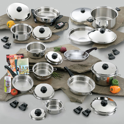 Saladmaster Ultimate cookware set